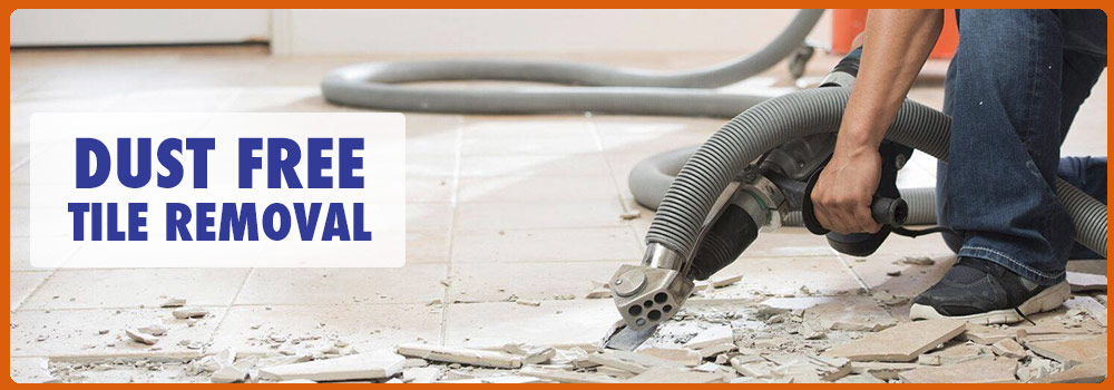 Dust Free Tile Removal In Plano Irving Arlington And Garland Tx